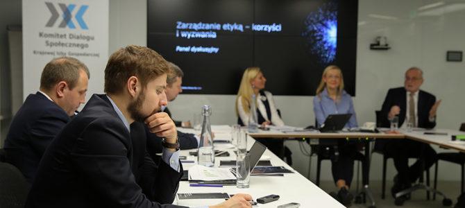 Seminarium: Zarządzanie etyką w przedsiębiorstwach