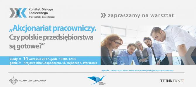 Czy polskie przedsiębiorstwa są gotowe na akcjonariat pracowniczy?