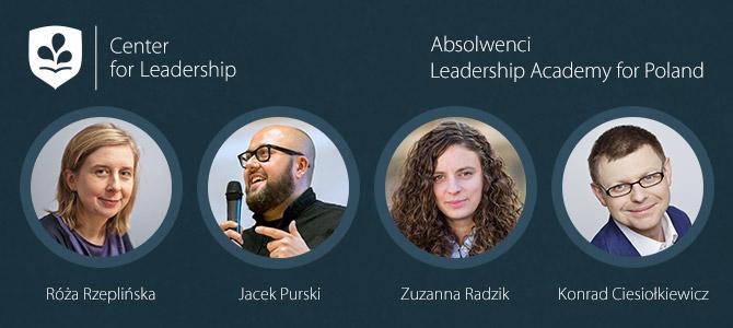 Komitet Dialogu Społecznego wspiera działalność Leadership Academy for Poland