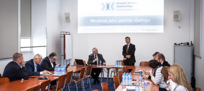 Młodzież jako partner dialogu