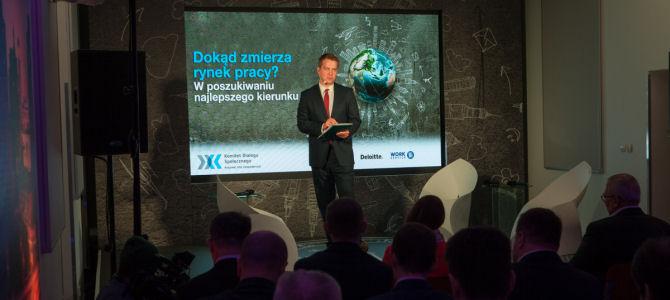 Dialog nad polskim rynkiem pracy: relacja z konferencji Dokąd zmierza rynek pracy? W poszukiwaniu najlepszego kierunku