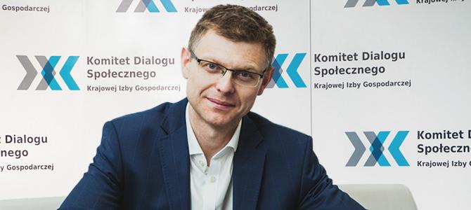 Konrad Ciesiołkiewicz przewodniczącym Komitetu Dialogu Społecznego KIG