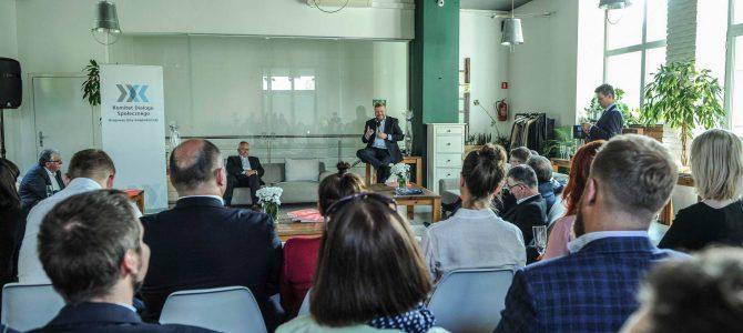 """""""Społeczne wyzwania pracodawców"""" – spotkanie z Maciejem Wituckim, nowym Prezydentem Konfederacji Lewiatan"""