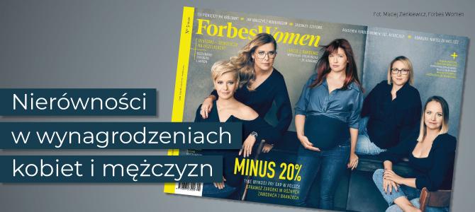 Magdalena Bigaj, ekspertka KDS KIG, jedną z bohaterek artykułu w Forbes Women Polska o różnicy w zarobkach kobiet i mężczyzn