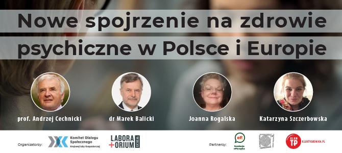 Wsparcie dla systemu zdrowia psychicznego w Polsce